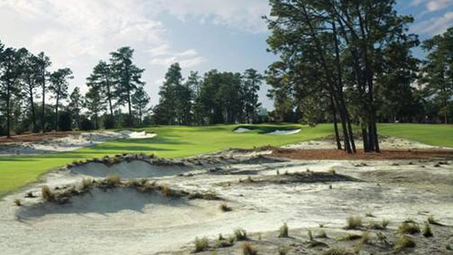 PHOTO: The Ryder Cup was played at Pinehurst No. 2 at Pinehurst Resort in 1951.