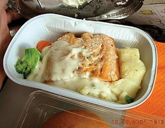 Worst Airline Meals