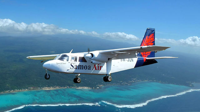 PHOTO: Samoa Air will charge passengers by weight.