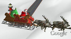 PHOTO NORAD Tracks Santa provides minute-by-minute updates of Santa, where he is now and where he?s going next.