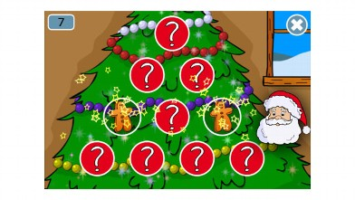 PHOTO: Santa Claus and Christmas Games