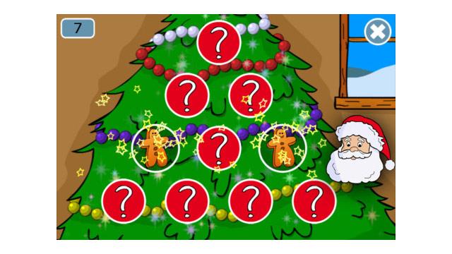 PHOTO: Santa Claus and Christmas Games