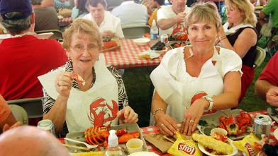 PHOTO: The Independence Day Seafood Festival at Bar Harbor is a feast, followed by a free concert and fireworks.