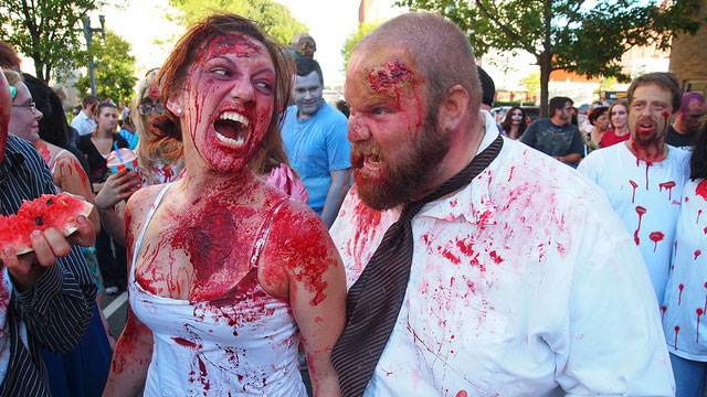 PHOTO: Years before America declared zombies hip and culturally relevant, Shreveport denizens were doing zombie walks on Halloween. Start with the Zombie Walk on Saturday October 27, and stick around for a weekend full of supernatural Cajun creatures.