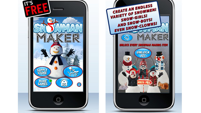 PHOTO: Snowman Maker Plus