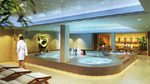 PHOTO A rendering of the new spa on Norwegian Cruise Lines Epic Cruise is shown.