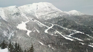 PHOTO: And for those people looking for a white Christmas, picturesque Stowe Mountain Lodge is promising snow, glorious snow?plus cozy warming indoor traditions like a poinsettia tree and ski spiked eggnog.