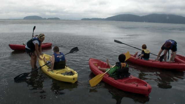 "PHOTO: Located just north of Seattle, Camp Quest Northwest is a summer camp for atheists or children of atheists, self-described ""freethinkers"" or otherwise non-religious people."