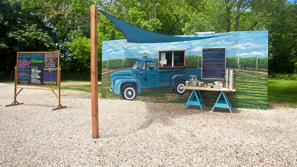 PHOTO: The Lunch Truck, outside the North Fork Table & Inn in Southold, N.Y., is a different venue for the inns chefs.