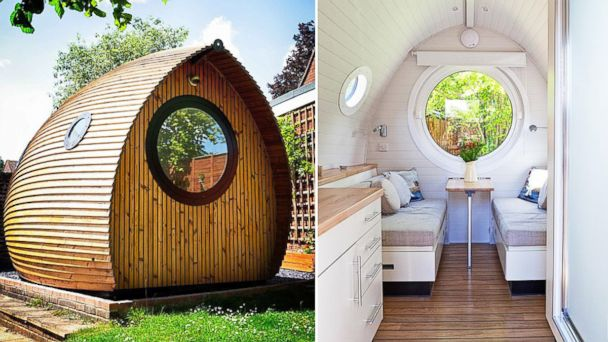 PHOTO: Garden Pod in Hampshire, England – Sleeps 2 / Bedrooms 1 – Starting at $61 per night