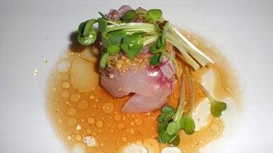 PHOTO: Dish at Uchi