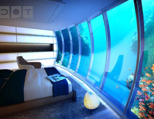 Hotel Creates Room 500 Feet Below Ground