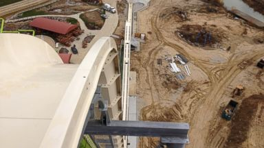 PHOTO: The Verruckt waterslide at the Schlitterbahn Kansas City Waterpark is due to be the tallest waterslide in the world.
