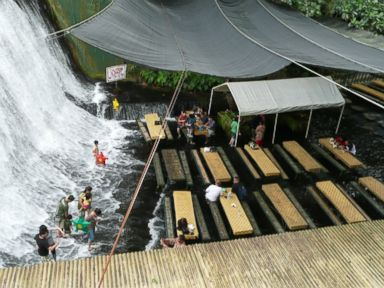 Photos: Waterfall Restaurant Leaves Patrons Soaked
