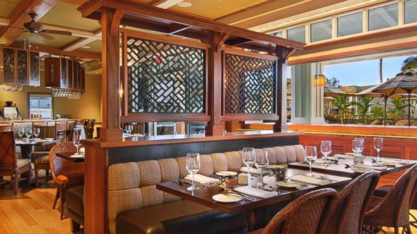 PHOTO: Westin Princeville Resort Villas Nanea Restaurant.
