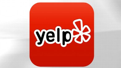 PHOTO: Yelp's mobile app