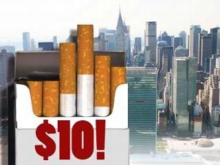 $10.00 cigarettes