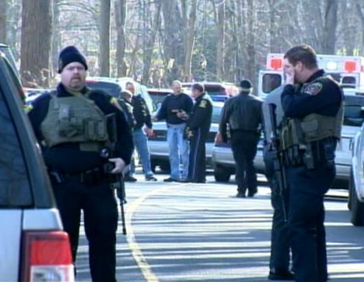 School Shooting at Sandy Hook Elementary in Newtown, CT