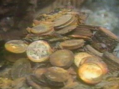 Watch:  Treasure Hunter Uncovers 'Ship of Gold' in 1989