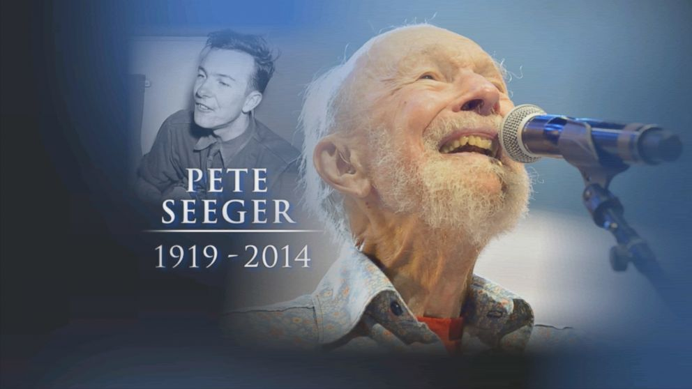 PHOTO: Legendary musician and activist Pete Seeger has died at the age of 94.