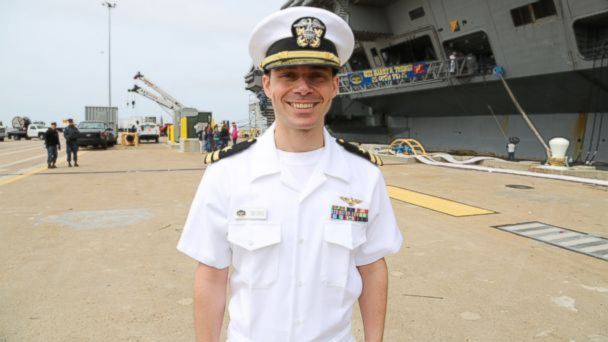 Heros Homecoming: Navy Officer Reunited With His Family