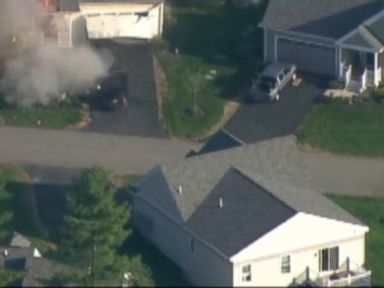 VIDEO: Caught on Tape: Home Explodes After Officer Shot