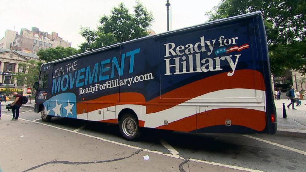 VIDEO: Take a tour of the campaign-style Ready for Hillary bus thats following Clinton everywhere she goes.