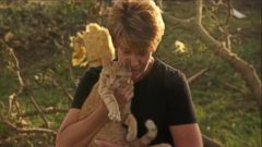 VIDEO: See the Incredible Moment a Tornado Survivor Is Reunited With Her Cat
