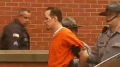 VIDEO: Accused Cop Killer Eric Frein Makes First Court Appearance