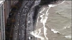 VIDEO: Cars Get Pounded By Waves In Chicago