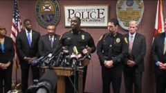 VIDEO: Florida State University Officials Identify Alleged Shooter