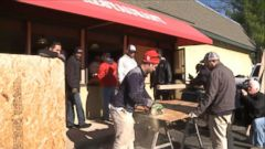 VIDEO: Ferguson Residents Help Rebuild After Riots