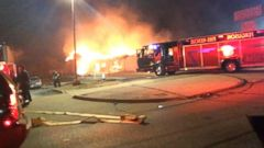VIDEO: ABC News Gloria Riviera at the scene of another building fire in Ferguson, Missouri.