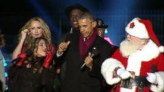 VIDEO: President Obama Dances With Santa