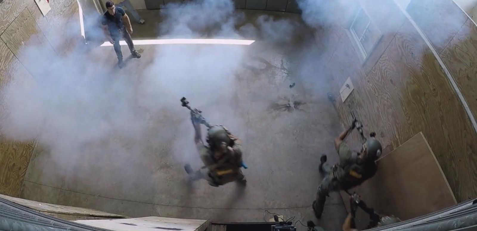 VIDEO: Watch What Happens During a Swat Team Raid Simulation