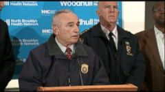 VIDEO: NYPD Commissioner William Bratton: BK Cops Targeted For the Uniform
