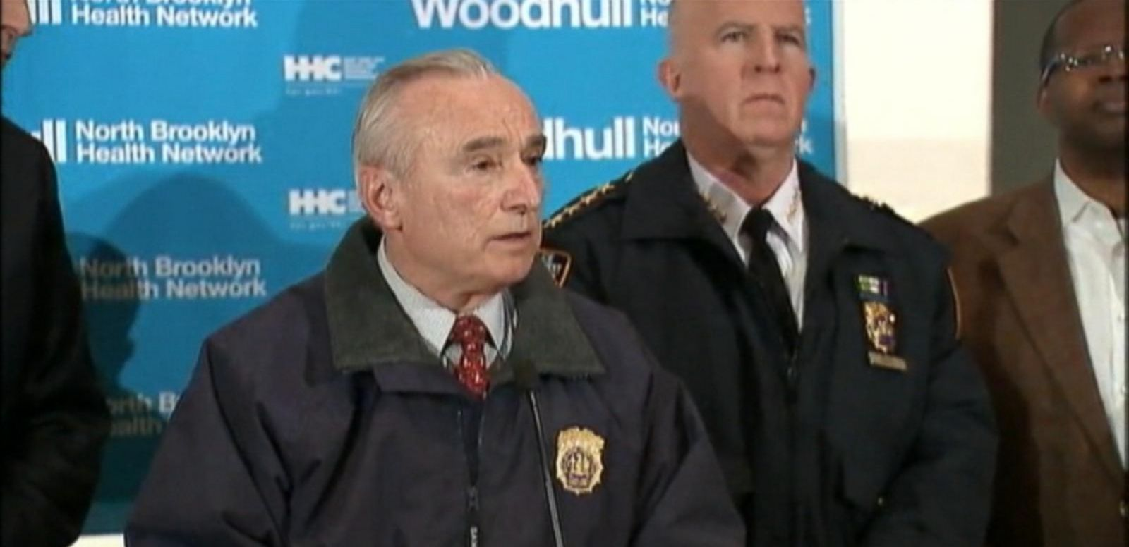 VIDEO: NYPD Commissioner William Bratton: BK Cops 'Targeted For the Uniform'