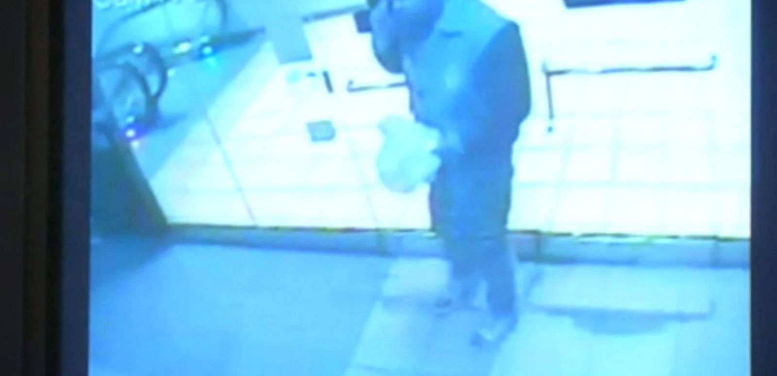 VIDEO: Authorities release surveillance video of the gunman at a shopping mall in Brooklyn just hours before the shooting, carrying a bag believed to contain a gun.