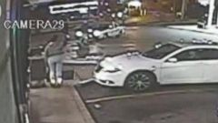 VIDEO: Officials say the video shows the victim pointing a gun at a police officer in Berkeley, Missouri.