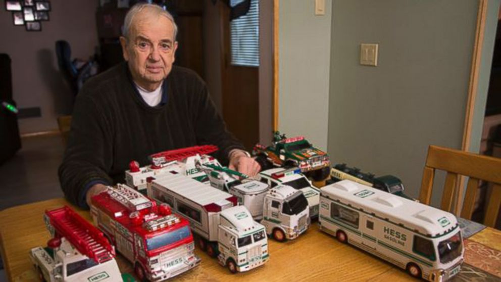Man S Hess Toy Collection Keeps On Trucking After 50 Years Video