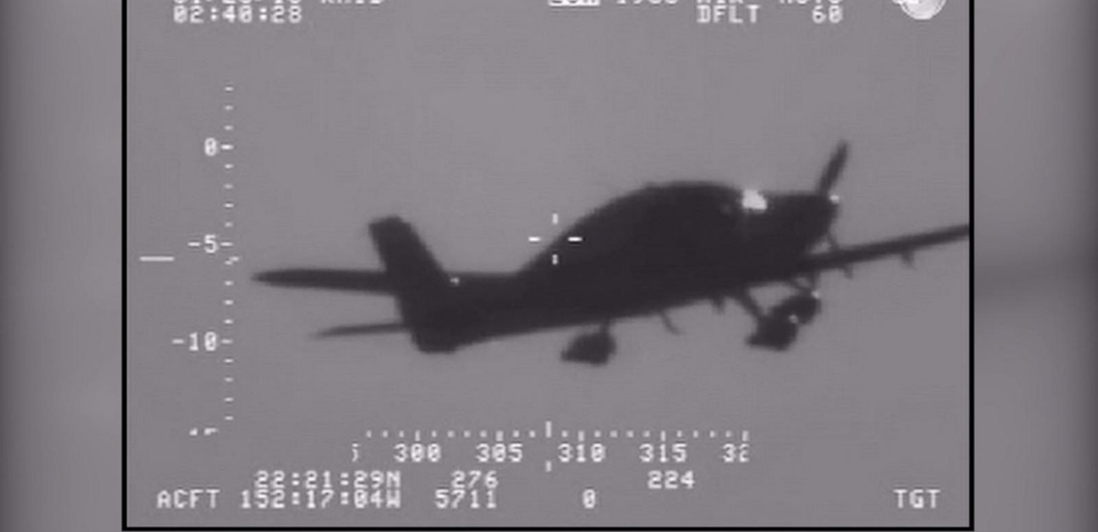 VIDEO: Plane Ditched Over Pacific Ocean