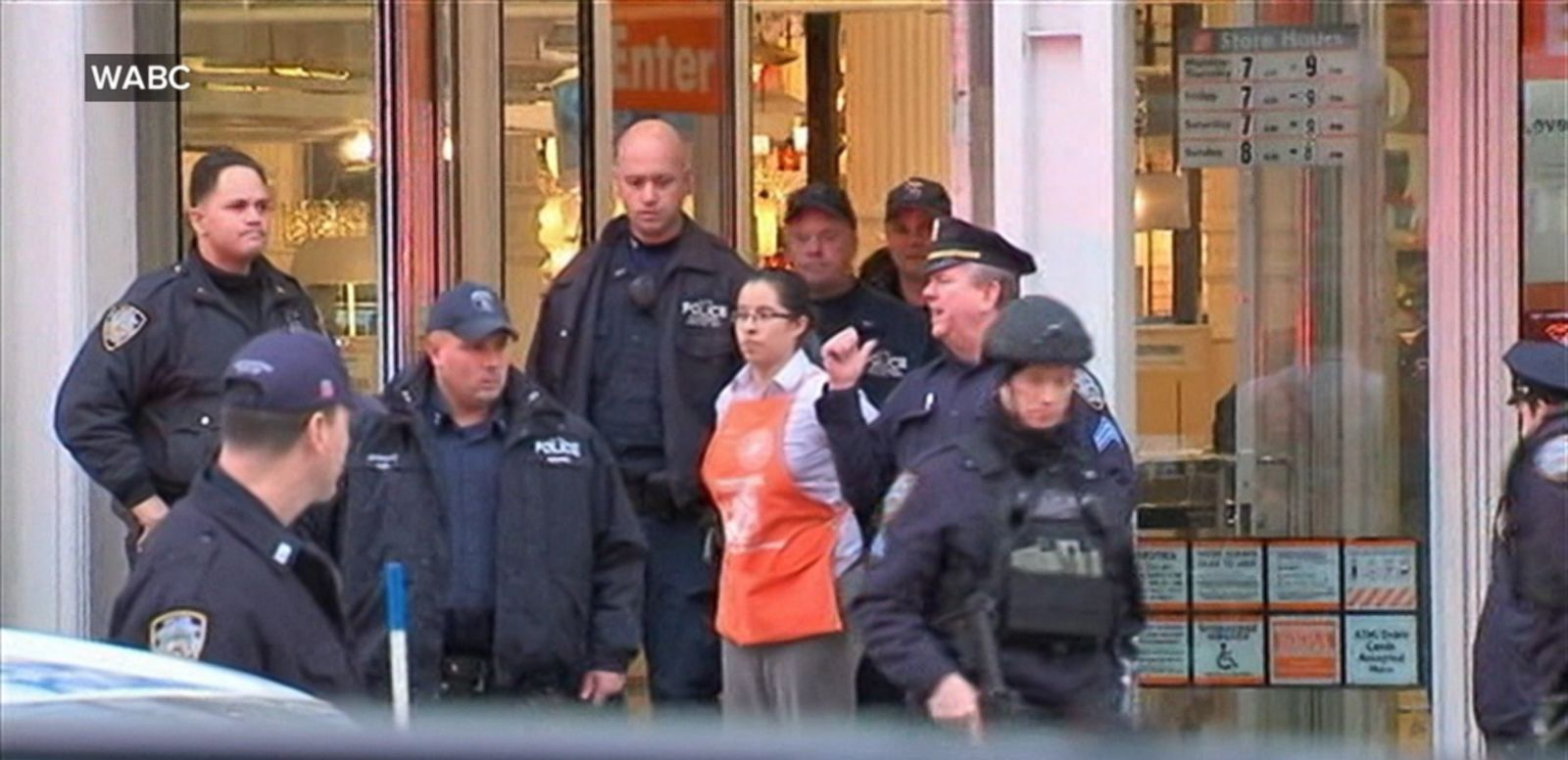 VIDEO: A packed Home Depot in Manhattan was evacuated Sunday after two employees were killed in a murder-suicide.