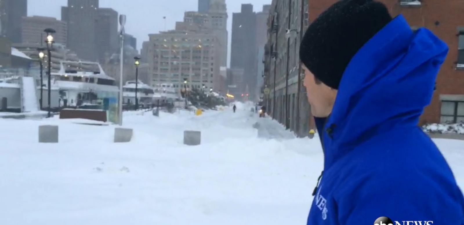 VIDEO: ABC News GoStream - Blizzard Dumps Roughly 2 Feet of Snow on Boston