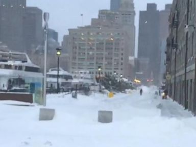 Watch:  ABC News GoStream - Blizzard Dumps Roughly 2 Feet of Snow on Boston