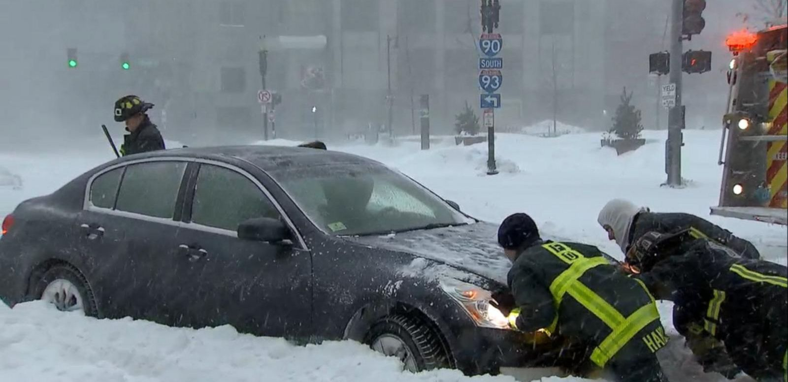 VIDEO: Blizzard or Bust? New York City Spared by Storm Slamming New England