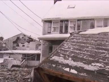 Watch:  High Tide Damages Coastal Homes in Massachusetts