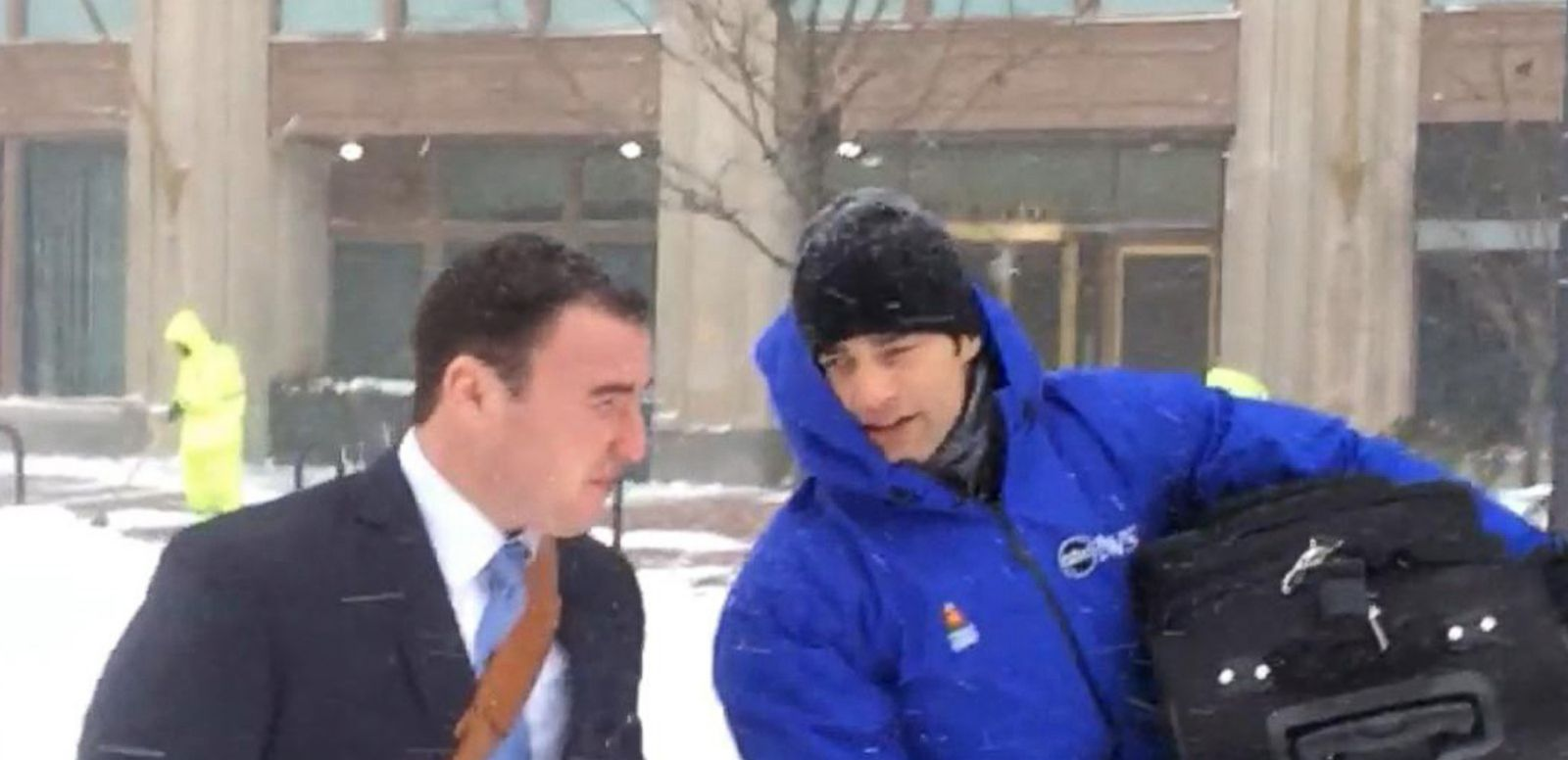 VIDEO: ABC News GoStream - Live Look as Blizzard Buries Boston