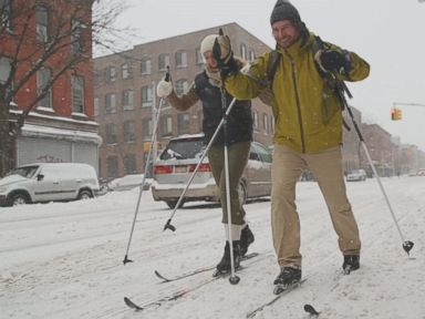 Watch:  New Yorkers Take on the Blizzard That Wasn't