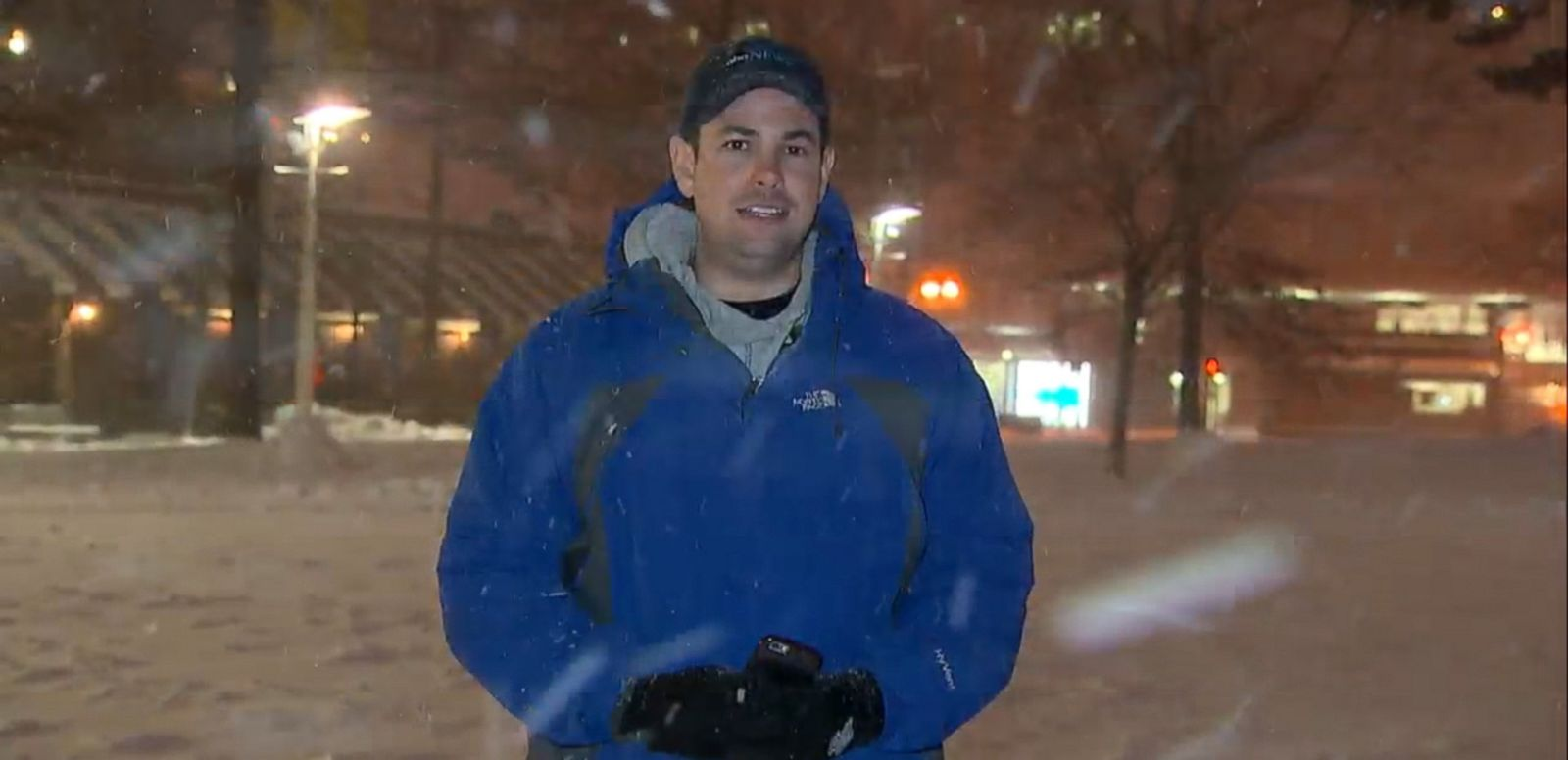 VIDEO: ABC News' Josh Haskell reports from the snowy streets of Beantown.