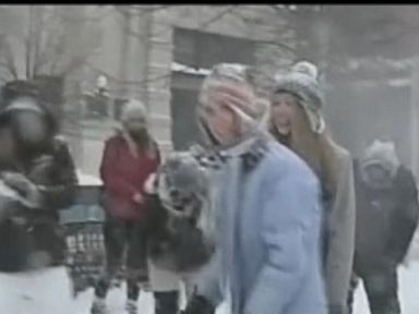 Watch:  Massive Snowball Fight in Portsmouth, New Hampshire
